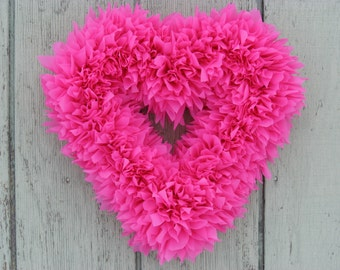 Red Heart Wreath   Valentineu0027s Wreath   Pink Wreath   Heart Wreath    Outdoor Wreath