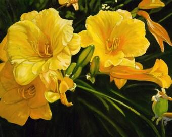 Paper cards-all occasion-Floral design-Original art-Award winning floral design
