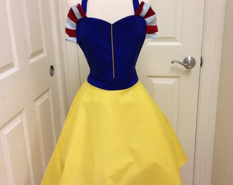 Snow White apron dress