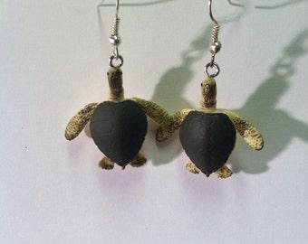 Adorable Sea Turtle Earrings