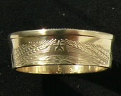 Ladies 1961 Soviet Union 20 Kopecks Coin Ring, Ring Size 6 1/2 and Double Sided