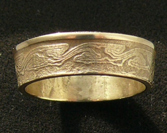 Ladies Bronze Coin Ring 1939 Brazil 500 Reis, Size 6 1/2 and Double Sided