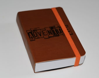 Adventure Travel Pocket Journal Sketch Book Pad