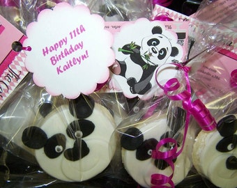 Cookie Favors - Panda Bears