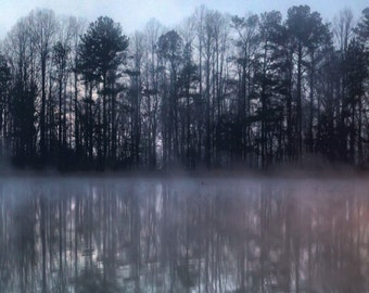 Shocco Springs, Early Morning Lake 1