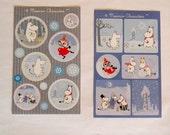 Moomin stickers - 2 sheet