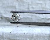 Natural Antique Cushion Cut Diamond - 0.48ct.