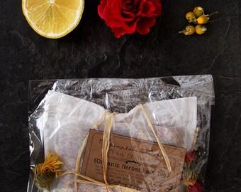 Organic Herbal Bath Tea - Freya of the Wild - Wild Relaxation Bath