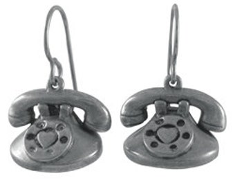 Telephone Earrings