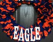 """War Eagle 16"""" Wreath"""