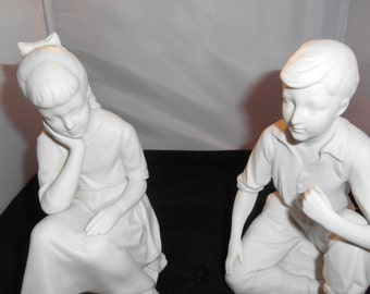 Andrea Sadek Bisque Figurine Set