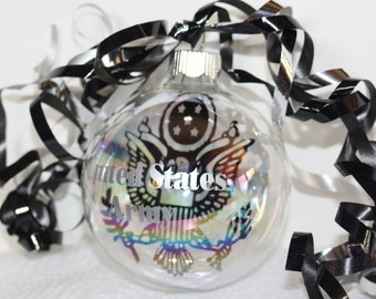 Military Army  Floating Christmas Ornament