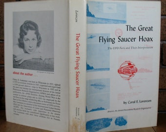The Great Flying Saucer Hoax: UFO Facts and Their Interpretation by Coral E. Lorenzen HC 1962