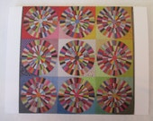 On the Dot quilt note card (folded)
