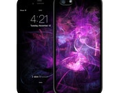 Purple Abstract iPhone Case - iPhone 6 Case Skin, iPhone 5/5S Case Skin, iPhone 5c Cases, Iphone 4/4S case, iPhone 6 plus cases Skins
