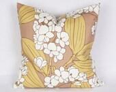 Pillow cover, Decorative pillow, Decorative Throw Pillow Covers , Cotton pillow cover, Home Decor, orchid, Flower.