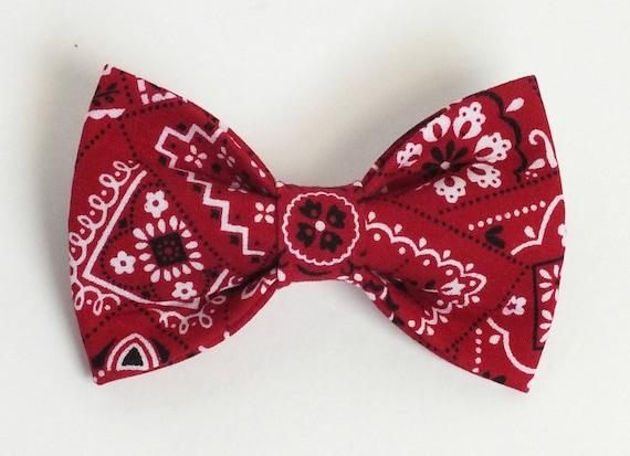 items similar to bandana bow tie cat bow tie on etsy