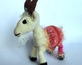 Crochet Toy Pattern, Crochet Goat Pattern , Amigurumi GOAT  Pattern, Amigurumi Crochet Goat Pattern, PDF Pattern