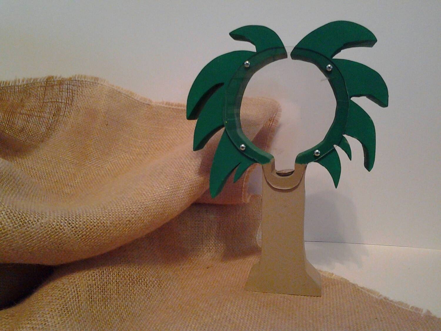 Handmade wooden palm tree coin bank by hollyshbz on etsy for Handmade coin bank