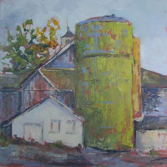 Items Similar To ORIGINAL Landscape Oil Painting-Plein Air