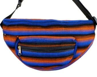 Hip Bag - Fanny Pack - Waist Pouch - Authentic Ghanaian Kente - West Africa