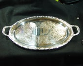 FB Rogers Large Silverplated Waiter Tray, Platter