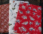 Cowboy Western Cotton Fabric - Moda and Alexander Henry - 4-1/2 yards total
