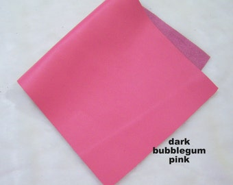 genuine leather pink leather