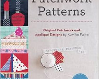 318 Patchwork Patterns by Kumiko Fujita *IN STOCK*