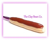 Eclair Crochet Hook- 4mm- purple aluminum