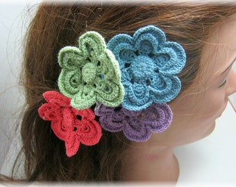 Lovely Flower Lace Bobby Pins