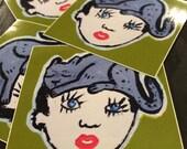 Sticker- Cathead