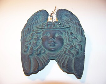 angel ornament reproduction of colonial style