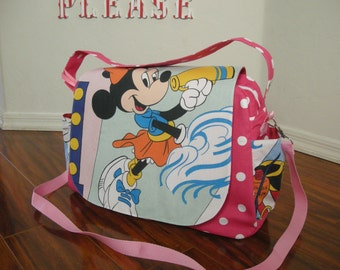 SALE  Disney Minnie mouse Diaper bag / shoulder and messenger bag