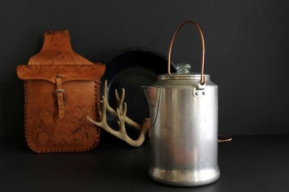 Bunn Coffee Maker Plastic Burning Smell : Vintage Aluminum Camping Coffee Pot