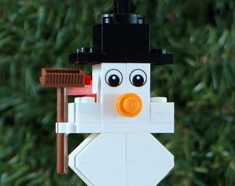SALE** Little Snowman Christmas Ornament