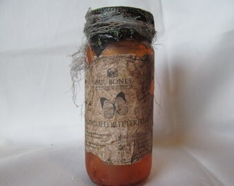 Potion Bottle/Jar Petrified butterflies