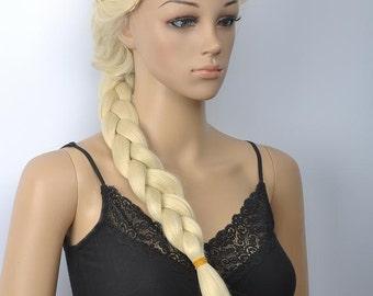 Princess Elsa // Full Synthetic Wig