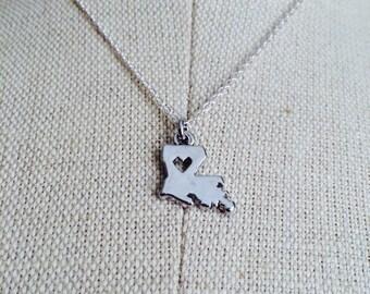 Louisiana Love Necklace