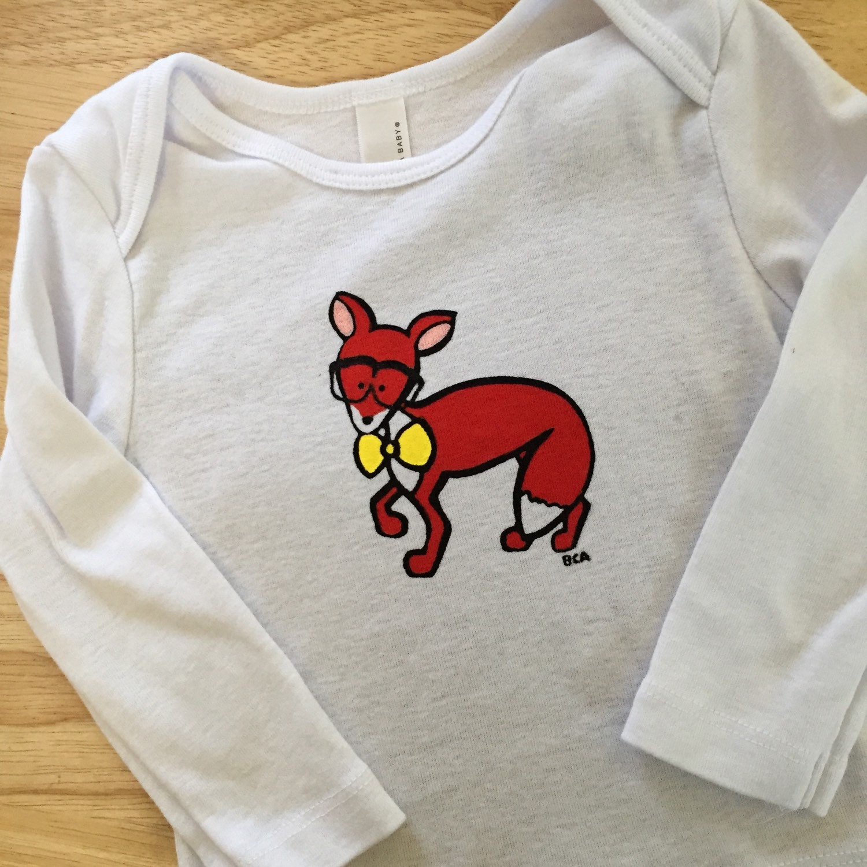 Fox Animal Baby Clothing by babblingbrookestudio on Etsy