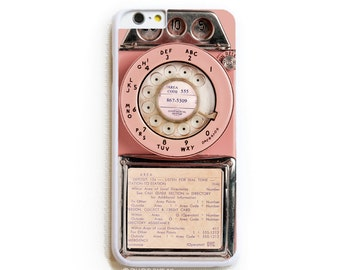 iPhone 6 Case. iPhone 6 Cases. Vintage Pink Payphone. Phone Case. iPhone Case. Case for iPhone 6.