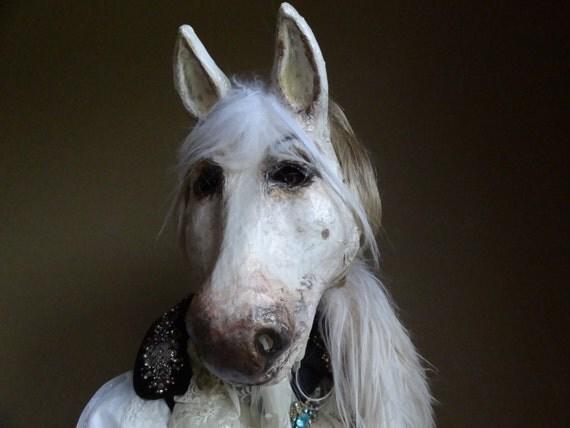 4 Horse Masks, DIY paper horse masks, party favor, plus ...  Pony Paper Mask