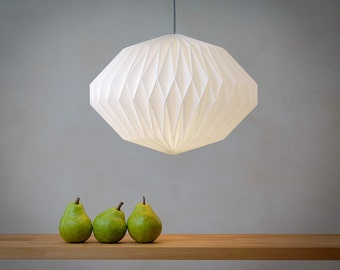 HEAVEN KNOWS  ///  CLEAR   -   origami lampshade