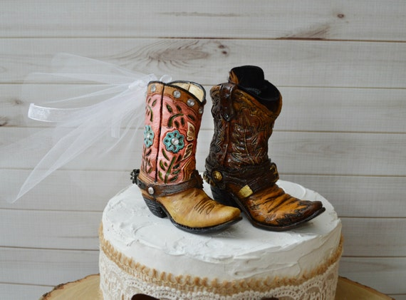 boot wedding cake topper cowboy boot wedding cake topper for grooms cake western 12096