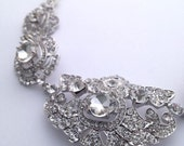 Royal Dramatic Austrian Crystal Necklace