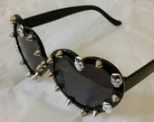 Skull and Spike Lolita Sunglasses