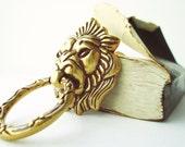 Lion Door Knocker : Brass Door Handle, Door Knocker, Door Pulls