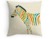 ZEBRA Throw Pillow for the Home Decor