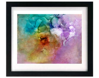 11 x 8.5 Pastel Abstract Limited Closed Edition Signed Art Giclée Print