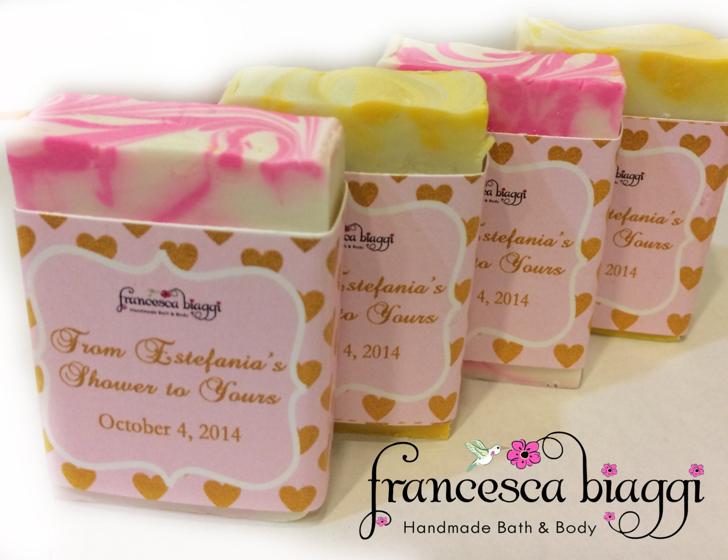 Baby Shower Favors Hand Soap ~ Baby shower soap favors by francescabiaggi